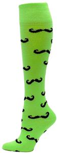 Red Lion Mustache Athletic Socks
