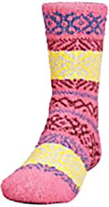 QT Feet Kids Recycled Prairie Fairisle Crew Socks