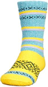 QT Feet Kids Recycled Harmony Stripe Crew Socks