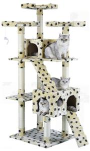 "Go Pet Club 72"" Cat Tree Condo Furniture"