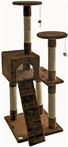 "Go Pet Club 52"" Cat Tree Condo Furniture"
