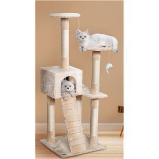 """Go Pet Club 52"""" Cat Tree Condo Furniture"""