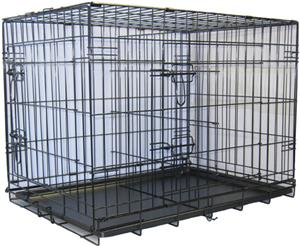 Go Pet Club Metal Dog Crate with Divider