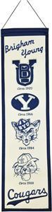 Winning Streak NCAA Brigham Young Heritage Banner