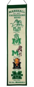 Winning Streak NCAA Marshall Heritage Banner