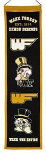 Winning Streak NCAA Wake Forest Heritage Banner