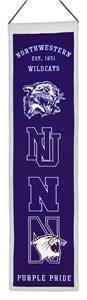 Winning Streak NCAA Northwestern Heritage Banner