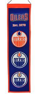 WinningStreak NHL Edmonton Oilers Heritage Banner