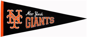 Winning Streak New York Giants Cooperstown Pennant