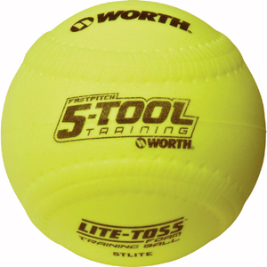 Worth 5-Tool Lite Toss Training Fastpitch Ball DZ