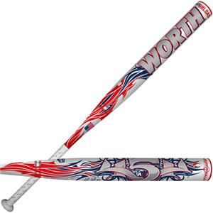 Worth ASA 454 Jeff Hall 0.5OZ Reload Slowpitch Bat