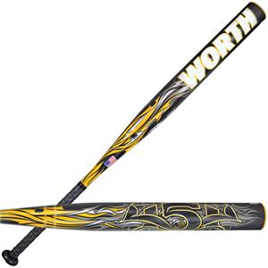 Worth 454 Balanced Composite USSSA Slowpitch Bats