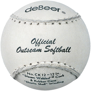 "deBeer 12"" Official Outseam Softballs CK12"