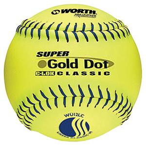 "12"" USSSA Mens Slowpitch Softballs 6 Pack"