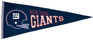 Winning Streak New York Giants Throwback Pennant