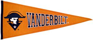 NCAA Vanderbilt University Traditions Pennant