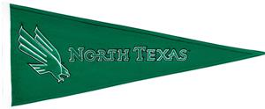 Winning Streak NCAA North Texas Traditions Pennant