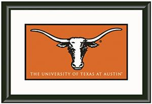 Winning Streak Texas Univ. Framed Gallery Banner