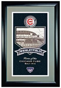 Winning Streak Wrigley Field Gallery Framed Banner