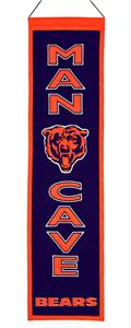Winning Streak NFL Chicago Bears Man Cave Banner