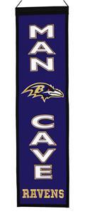 Winning Streak NFL Ravens Man Cave Banner