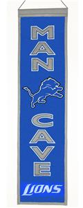 Winning Streak NFL Detroit Lions Man Cave Banner