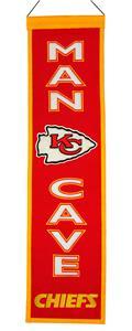 Winning Streak NFL KC Chiefs Man Cave Banner