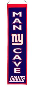 Winning Streak NFL NY Giants Man Cave Banner