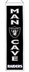 Winning Streak NFL Oakland Raiders Man Cave Banner