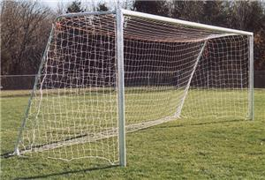 7x21x3x6 UNPAINTED Round or Square Soccer Goals