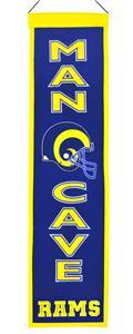 Winning Streak NFL Rams Man Cave Banner