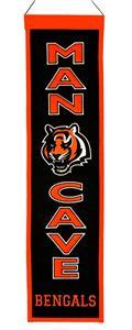 Winning Streak NFL Bengals Man Cave Banner