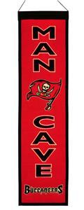 Winning Streak NFL Buccaneers Man Cave Banner