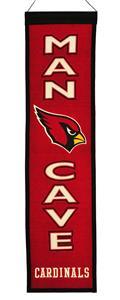 Winning Streak NFL Cardinals Man Cave Banner