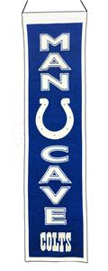 Winning Streak NFL Colts Man Cave Banner