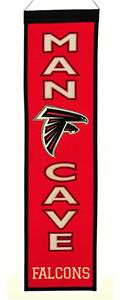 Winning Streak NFL Atlanta Falcons Man Cave Banner