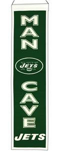 Winning Streak NFL New York Jets Man Cave Banner