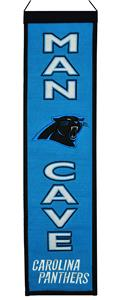 Winning Streak NFL Panthers Man Cave Banner