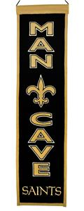 Winning Streak NFL Saints Man Cave Banner