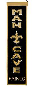 Winning Streak NFL Saints Man Cave Banner