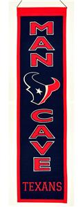 Winning Streak NFL Houston Texans Man Cave Banner