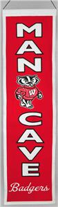 Winning Streak NCAA Wisconsin Man Cave Banner