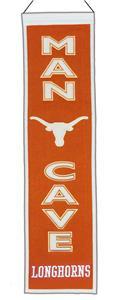 Winning Streak NCAA Texas Longhorn Man Cave Banner