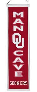 Winning Streak NCAA Oklahoma Man Cave Banner
