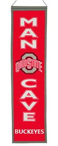 Winning Streak NCAA Ohio State Man Cave Banner