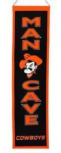Winning Streak NCAA Oklahoma State Man Cave Banner