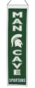 Winning Streak NCAA Michigan State Man Cave Banner