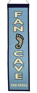 Winning Streak NCAA North Carolina Fan Cave Banner