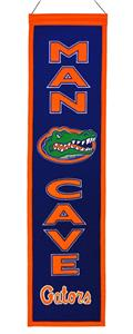Winning Streak NCAA Florida Gators Man Cave Banner