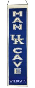 Winning Streak NCAA Univ Kentucky Man Cave Banner